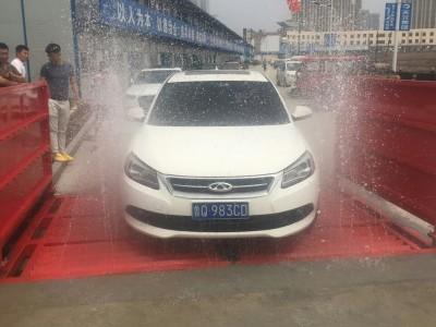 韩强角钢加强面基础工程洗车机