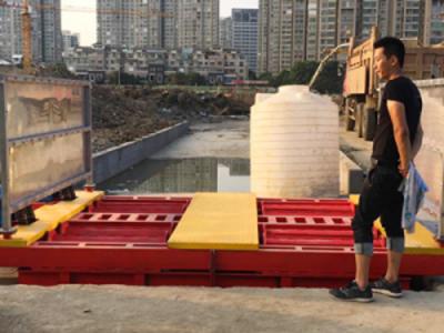 临沂韩强8轮滚轴工程洗车机