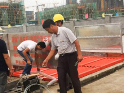 韩强全自动新型工地洗轮机